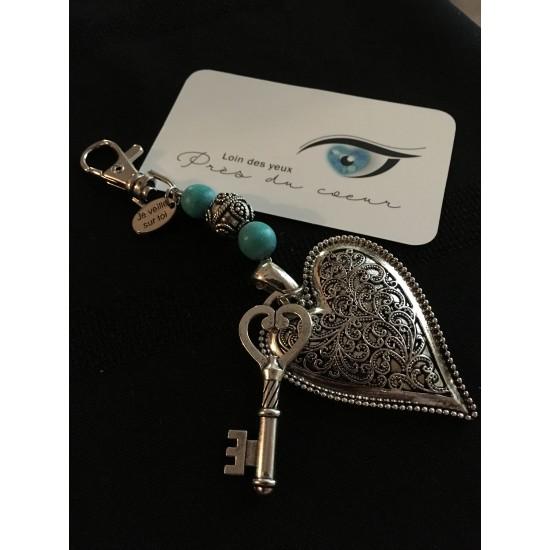 Porte-clés ou bijou pour sac à main
